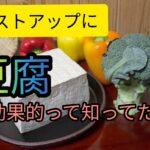 バストアップに豆腐が効果的って本当!?その理由について徹底解説!